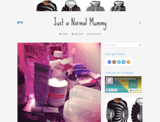 justanormalmummy.blogspot.co.uk screenshot