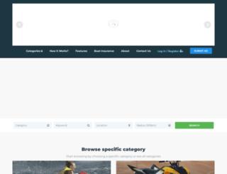 justboats.co.za screenshot