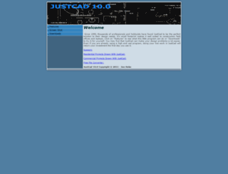 justcad.com screenshot