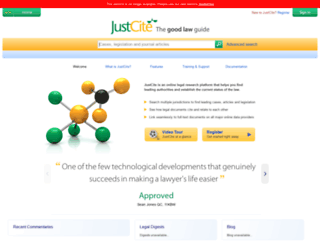 justcite.com screenshot