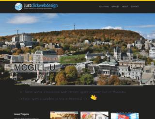 justclickwebdesign.com screenshot