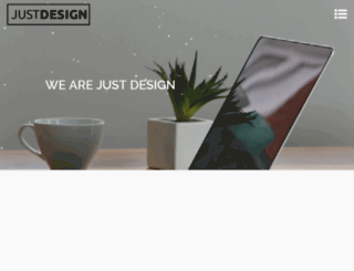 justdesign.ae screenshot