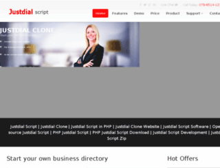 justdialscript.com screenshot