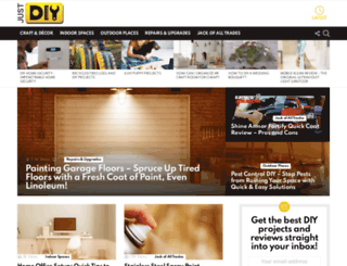 justdiy.com screenshot