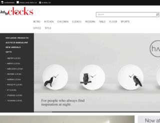 justforclocks.com screenshot