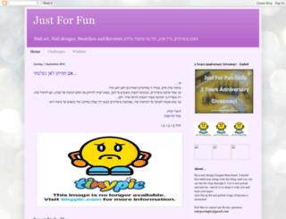 justforfunnailblog.blogspot.co.il screenshot