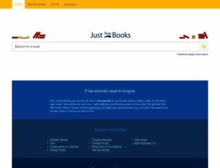 justfreebooks.info screenshot