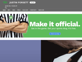 justinforsett.sportsblog.com screenshot