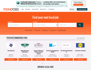 justjobs4students.co.uk screenshot