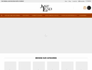 justlead.co.uk screenshot