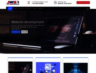 justwebservices.com screenshot