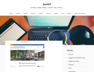 justwp.org screenshot