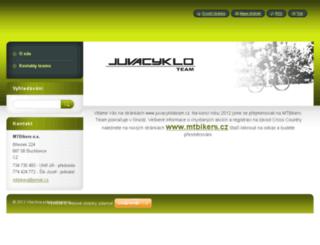 juvacykloteam.cz screenshot