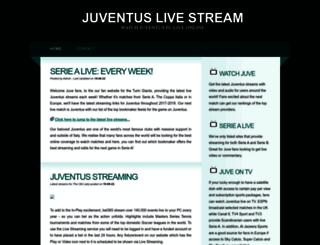 juventus-stream.net screenshot