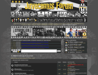 juventus.forumfree.net screenshot