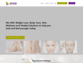 juviamedspa.com screenshot