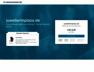 juwelierimplaza.de screenshot