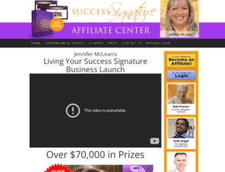 jv.successsignature.com screenshot