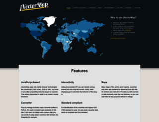 jvectormap.com screenshot