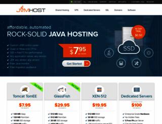 jvmhost.com screenshot