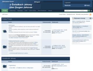 jw-forum.de screenshot
