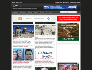 jwire.com.au screenshot