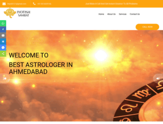 jyotishsamrat.com screenshot