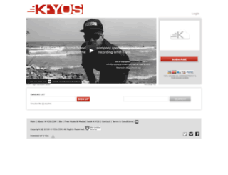 k-yos.com screenshot