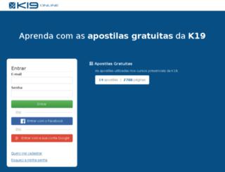 k19.com.br screenshot