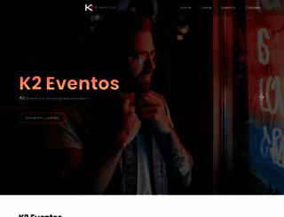 k2eventos.com.br screenshot