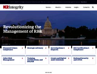 k2intelligence.com screenshot