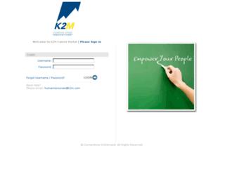 k2m.csod.com screenshot