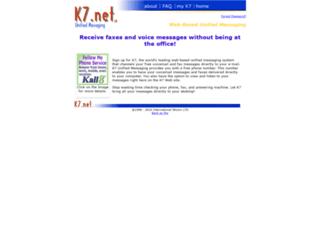 k7.net screenshot