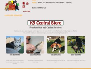 k9central.ca screenshot