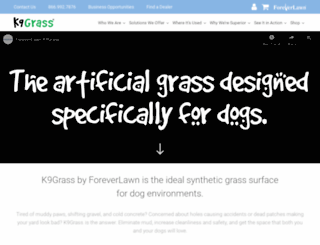 k9grass.com screenshot