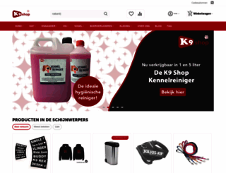 k9shop.nl screenshot