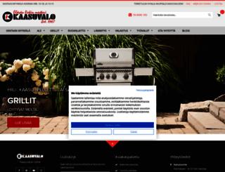 kaasuvalo.fi screenshot