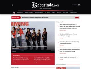 kabarindo.com screenshot