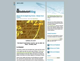 kabbalahblog.info screenshot