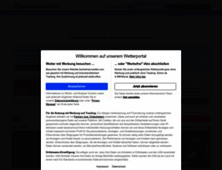 kachelmannwetter.de screenshot