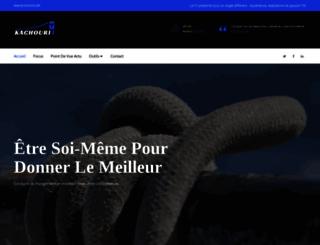 kachouri.com screenshot