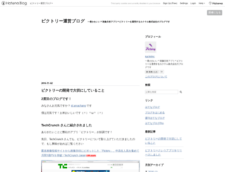 kactelinc.hatenablog.com screenshot