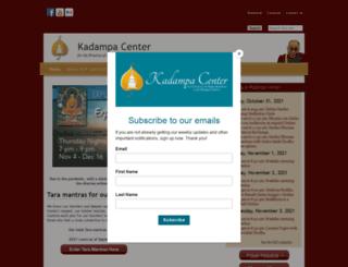 kadampa-center.org screenshot