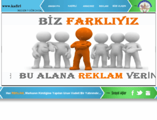 kadirliesnafi.com screenshot