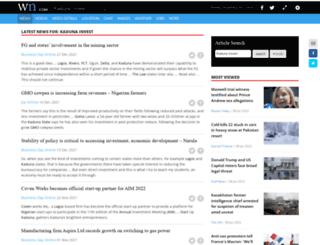 kadunainvest.com screenshot