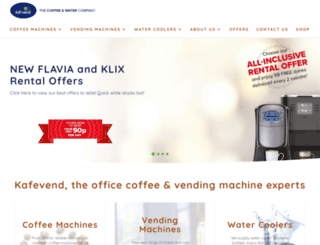kafevendingmachines.co.uk screenshot