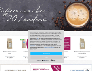 kaffeeshop24.de screenshot