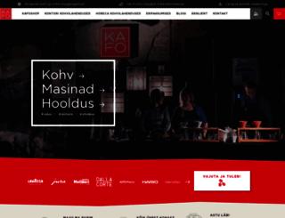 kafo.ee screenshot