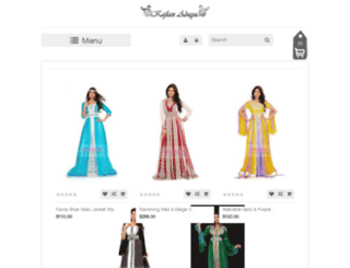 kaftanabaya.com screenshot