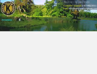 kahiyeyellowpages.com screenshot